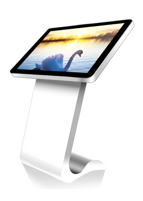 "42"" Interactive Touch Screen Kiosk Floor Standing All In One PC"