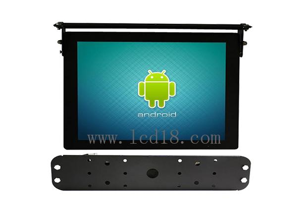"Android IOS Bus Digital Signage 19.1"" With Advertisement Publishing Software"