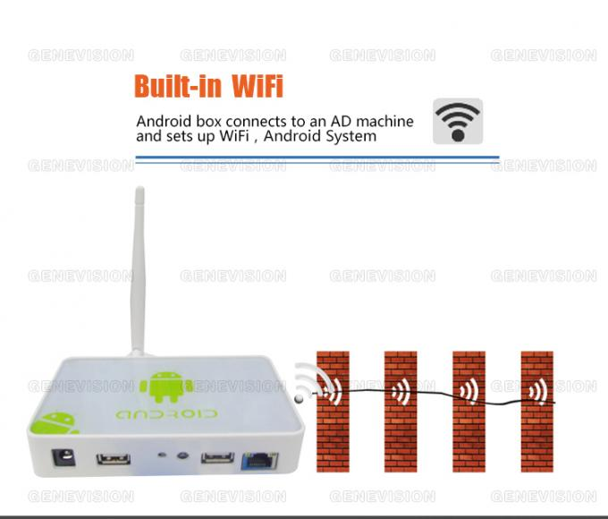 Cute Mini Android Media Player Box with HDMI out,  DC in / USB 2.0 Power in, ready in stock