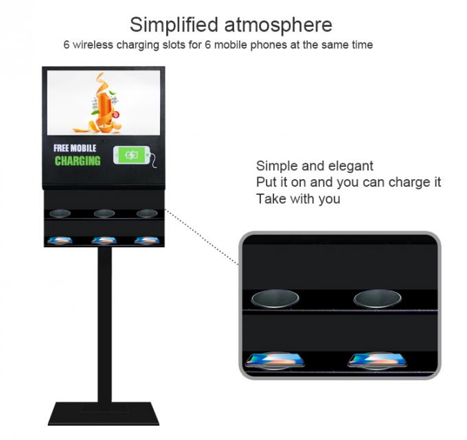 WIFI Android Kiosk Digital Signage 21.5 Inch Lcd Advertising Display 1 Year Warranty