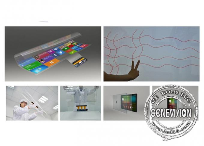 Nano Capacitive Touch Foil Film USB Port 50 Points 32'' Transparent LCD Multi Touch Screen Foil