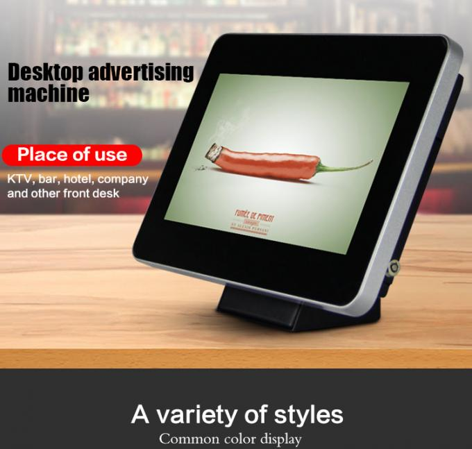 10.1 Inch Table Standing Stand Alone Digital Signage Indoor Lcd Advertising Player