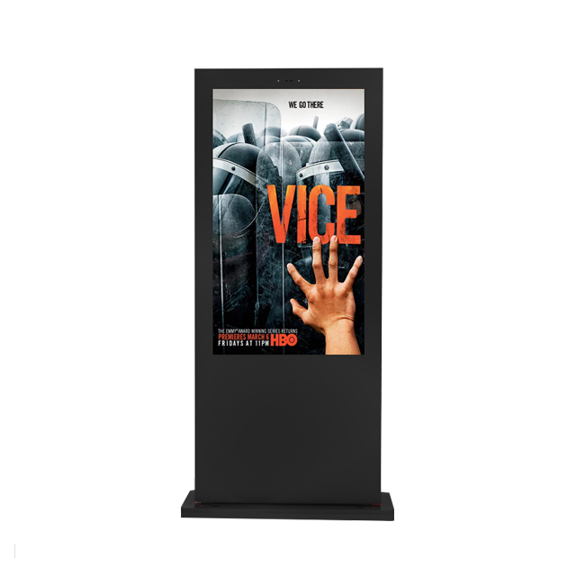 Full HD High Brightness Digital Signage Led Display Outdoor 43 Inch Stand Alone