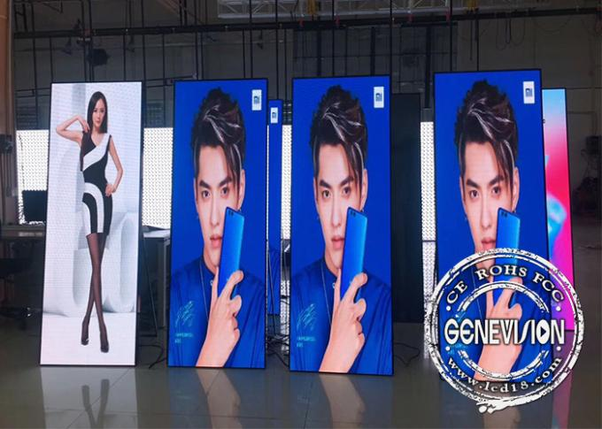 P3 LED Sign Poster Screen Kiosk Digital Signage 1500 Nits Indoor Portable 1920x576mm