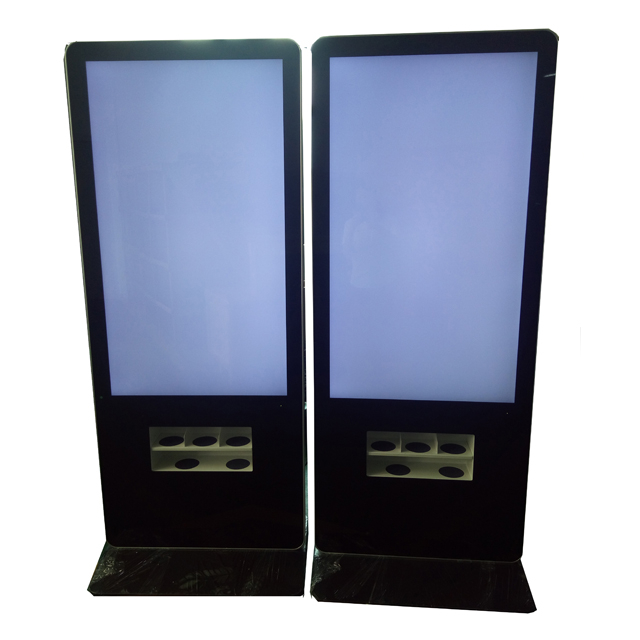 Wireless Wifi Digital Signage Digital Lcd Network Advertising Player With Phone Charging