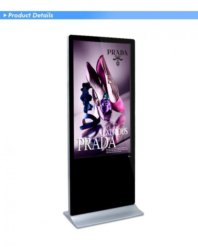 Indoor 43'' Touch Screen Self Service Terminal Kiosk With Digital Signage Software
