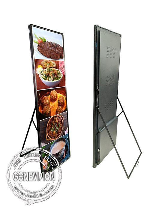 High Brightness Kiosk Digital Signage P1.8 Indoor LED Video Poster Screen Display