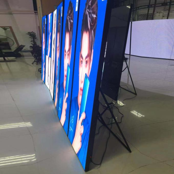 Full Color Wifi Digital Signage , Outdoor Poster Led Advertising Screen  IP54 Android Controller