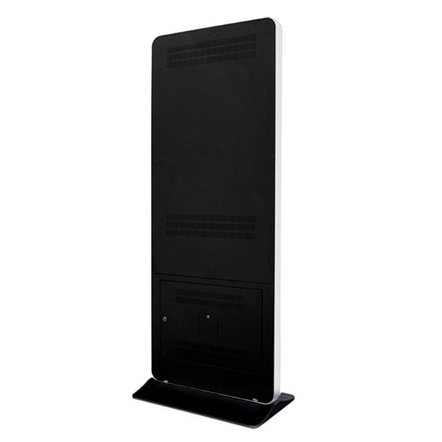 "Floor Standing Commercial Android Lcd Digital Advertising Media Player 65"" Black"