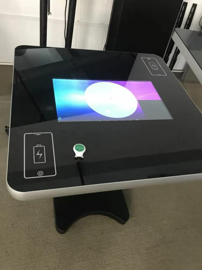 Lcd Display Touch Screen Kiosk Android 5.1 OS Smart Interactive Table 21.5 Inch For Coffee Shop