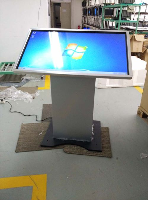 42 Inch Led Touch Screen Self Service Query Kiosk