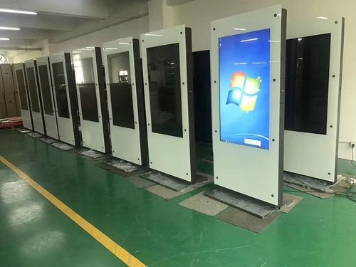 Mass Production of 55inch Dual Screens Interactive Kiosk Windows OS Capacitive Touch Totem
