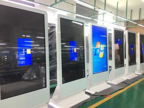 55inch Sloping Style Touch Totem PC Touch Kiosk and HDMI in Monitor Two Operation System