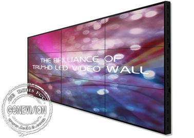 """Ultra Narrow Bezel 55"""" Digital Signage Video Wall 1080P HD 3.5mm 500 Brightness"""