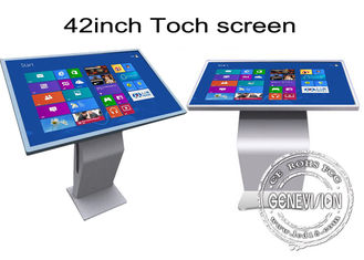 42 inch Multi Function All In One Touch Screen Kiosk Floor Stand Metal Case