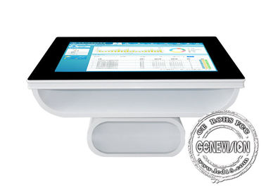 43 inch Waterproof Windows 10 Capacitive Touch Computer Table 700cd/m2 Anti-glare Interactive Query Machine