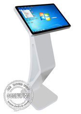 21.5 inch Touch Screen Kiosk Windows10 Interactive Table WIFI Digital Podium
