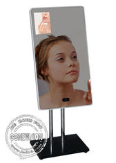 300Cd / M2 Advertising Kiosk Digital Signage Mirror / 13.3 Lcd Magic Mirror Display
