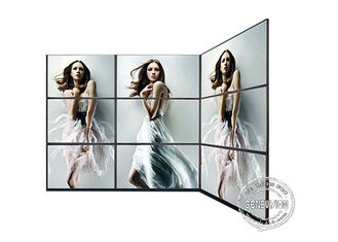 HD Digital Signage Video Wall Panels , LCD Narrow Edge Video Wall