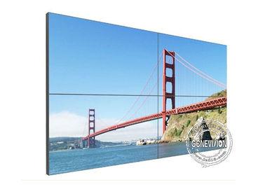 LCD Digital Signage Video Wall Ultra Narrow Bezel HD , Super Wide