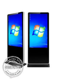 Slim 43 inch Android Touchscreen Digital Signage Kiosk with Wifi and Google Store