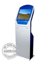 Pvc Card Printer 19 Inch Touch Screen Computer Kiosk Totem With Nfc And Wifi