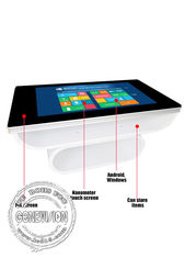Indoor Outdoor 46 Inch Touch Screen Kiosk Tea Table Coffee Information Kiosk