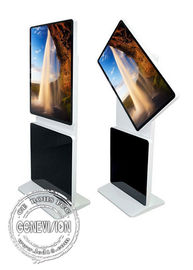 "43"" Rotatable Smart Rotation Touch Screen Kiosk Floor Standing Digital Signage"