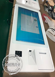 Touch Screen Computer Restaurant Ordering Machine Capacitive Wifi RS232 Payment Terminal