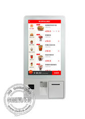 32 Inch Touch Screen Self Service Payment Kiosk With Thermal Printer / POS