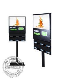 Digital Wifi Digital Signage 21.5 Inch Wireless Cell Phone Charging Station Electronic