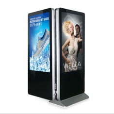 Indoor Double Side Kiosk Digital Signage Lcd Screen 55'' For Shopping Mall Advertising