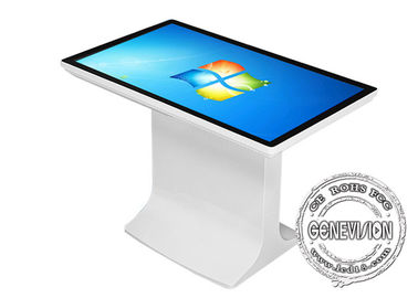 Spill Proof Capacitive Self Help Kiosk Wifi Innovative Interactive Touch Table