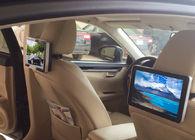 China 10.1 Inch HD Dual Core Car Digital Signage Headrest Digital Advertising Screens company