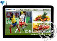 500Cd / M2 Brightness Lcd Wifi Digital Signage Screen 55 Inch Energy Saving