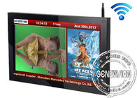 Real Color Wifi Digital Signage Screens With Flow Subtitles , 8ms Responsive Time