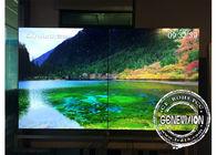 4K resolution 55 Inch 3.5mm bezel flexible digital signage advertising , 800cd / m2 led video wall HDMI