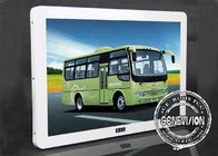 23.6 Inch Metal Shell Elegant Wall Mount Bus Media Player USB Advertising Update