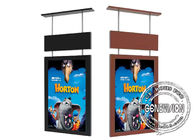 49 Inch Digital Outdoor Signage High Brightness Shop Window Vertical Displaying LCD Screen