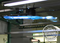 LED Advertising 3D Holographic Display 65cm Length 100-240V 50-60HZ Metal Material