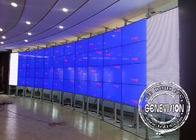 10W Digital Signage Video Wall 55 inch 4*8 Curved Ultra large Samsung IR Touch Screen