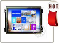 China 17 inch frameless TFT lCD Display with USB 2.0 , HDMI or VGA factory