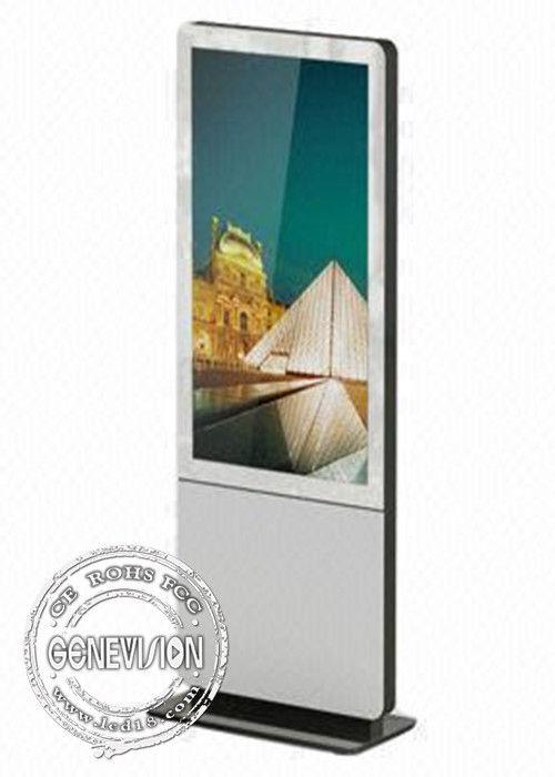 Landscape android retail Kiosk Digital Signage panels , mulitimedia digital billboard advertising