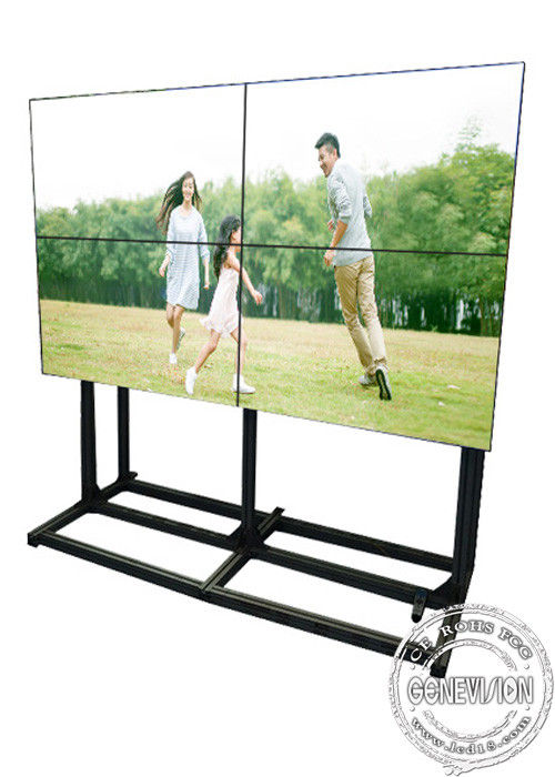 55 inch TV digital advertising displays , led video wall display with bracket
