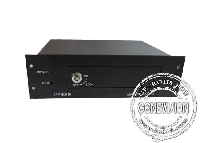 GPS Automatical Bus Station Announcer Box , IR Remote Full Hd Media Player