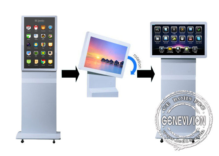32 Inch free Rotable Touch Screen Kiosk Digital Signage with Gravity Sensor