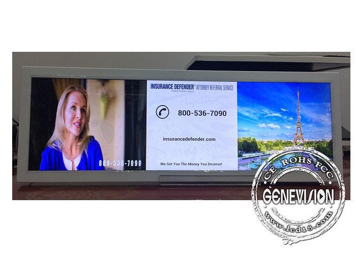 24.6 Inch Ultra Stretch Industrial LCD Displays High Brightness 500 nits Bar Display Monitor