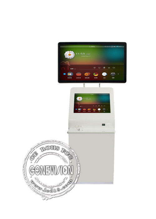 Wifi Touch Screen Digital Signage , 1920*1080 Advertising Digital Display Double Screens