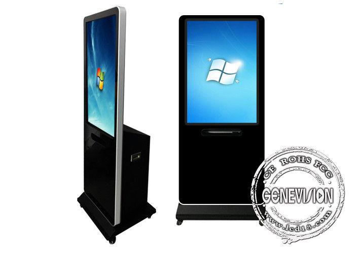 Wifi Network Touch Screen Kiosk with Printer, Indoor Floor