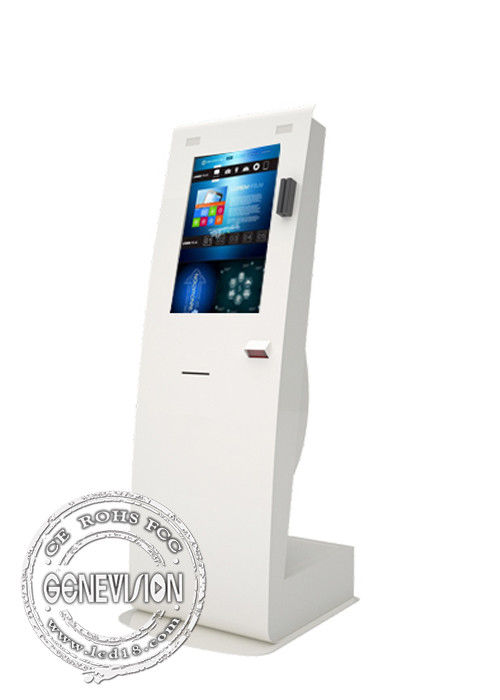 Android OS Self Service  Touch Screen Payment Kiosks High Resolution With Printer